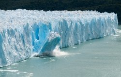 Ice Calving at the Perito Moreno Glacier, Patagonia, Argentina